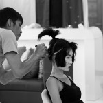 geisha tvc preperations makeup fitting 1