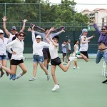 when you have you can do amazing things tennis court tvc shoot